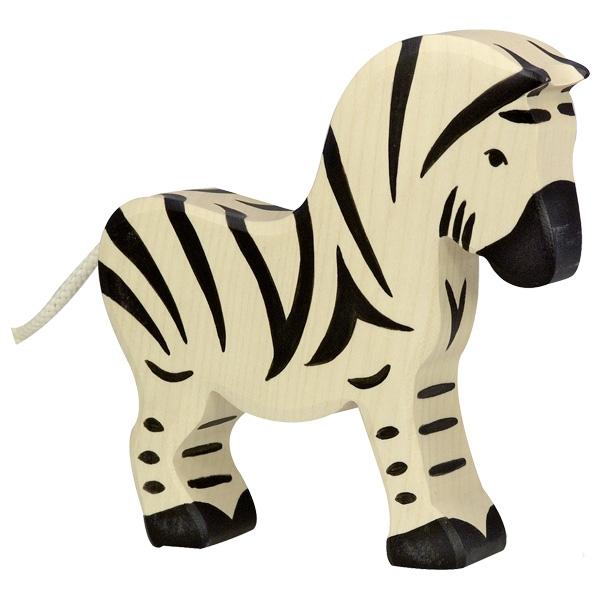 Holztiger: Zebra Zeleni planet