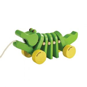 Plan Toys wooden dancing alligator toy