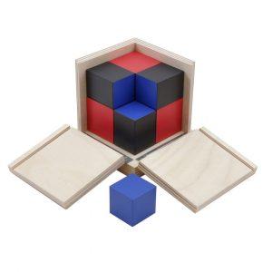 GAM montessori material binomial cube