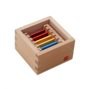 GAM montessori material early years first set of color tablets