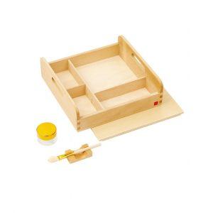 GAM montessori material glue and paste box