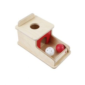 GAM montessori material early years object permanence box