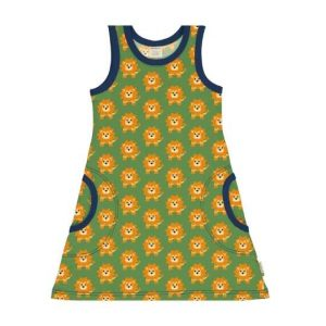Maxomorra organic cardigan for children with summer ferry prints