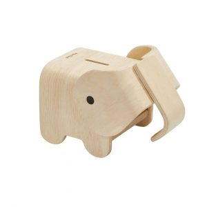 Plan Toys piggy bank elephant shaped