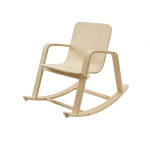 Plan toys rocking chair for kids made of rubberwood